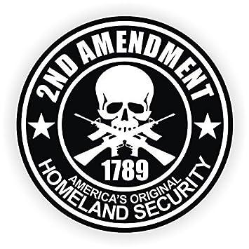 3 2nd amendment vinyl decals stickers ar 15 ar15 lower helmets