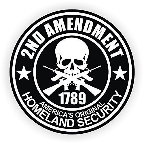 3 - 2nd Amendment Vinyl Decals / Stickers AR-15 AR15 Lower, Helmets, Hard Hats, Tool Boxes
