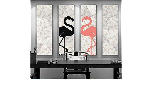 Papel Pintado 3D Papel Tapiz Dibujado a mano Flamingo Cubism Geometric Seamless Wallpaper Background Wall- (150cmX105cm): Amazon.es: Bricolaje y herramientas