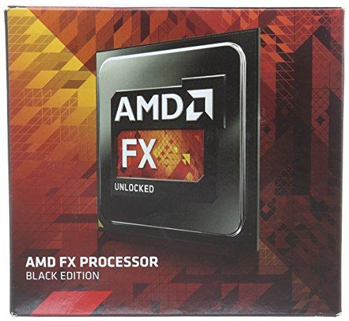 AMD FX-9370 4.7GHz Processor Black FD9370FHHKBOF