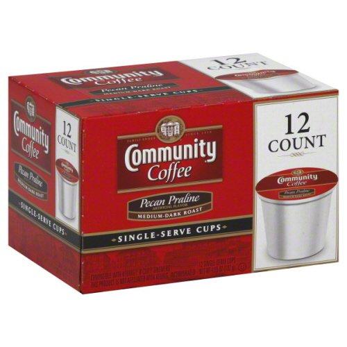 Community Coffee Coffee Single-Serve Pecan Praline, 12 Pc, Case Of 6