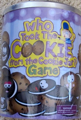 Cardinal WHO TOOK The COOKIE From The COOKIE JAR? GAME w NO READING Required -