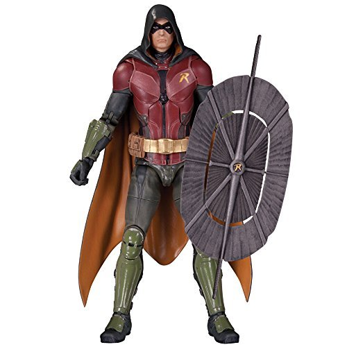 "[DC action figure ""Batman: Arkham Knight"" 6 inches # 06 Robin height of about 17 cm plastic-painted action figure"