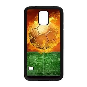 Fire Ball Pattern Custom Protective Hard Phone Cae For Samsung Galaxy S5