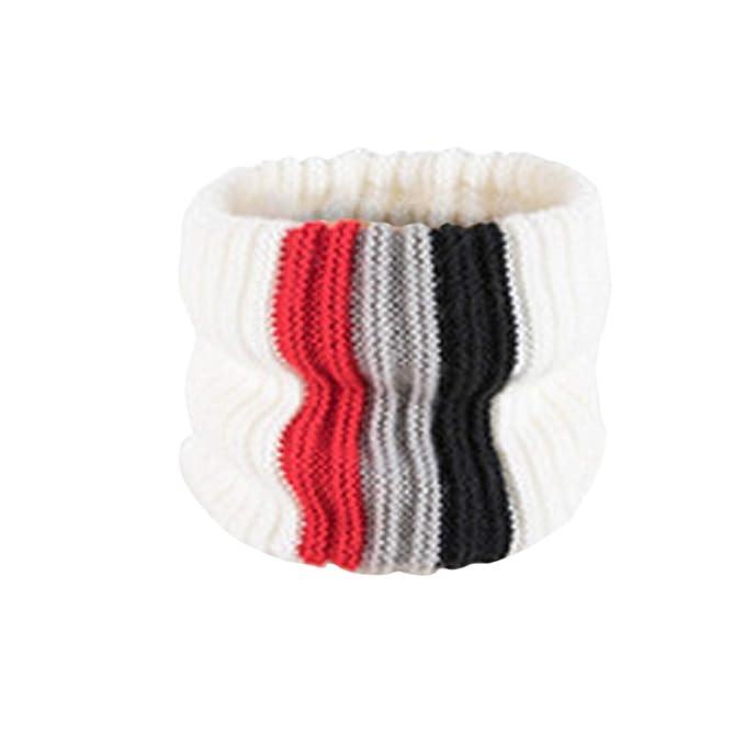 Elecenty Sciarpa bambino Inverno Scaldacollo in maglia di cotone con ad  anello alto lavorato da bambino Natale Halloween regalo  Amazon.it   Abbigliamento b364446d3acf
