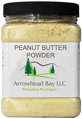 Arrowhead Bay Peanut Butter Powder, 1 Lb., Gluten Free, Non-GMO, Made in USA