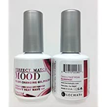 LeChat Mood Color Changing Soak Off Gel Polish - Groovy Heat Wave - MPMG01 by LeChat