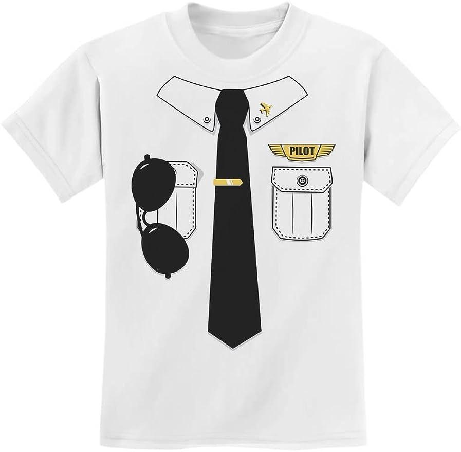 Disfraz de piloto para niños para carnaval, camisa de piloto para niños, camiseta, gorro, gafas de piloto, camiseta – Talla 116-164 Blanco 128 cm(7-8 años): Amazon.es: Ropa y accesorios