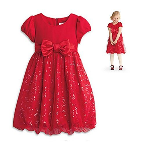American Girl Bitty Baby Twinkle Party Dress for Girls Size 3 ()