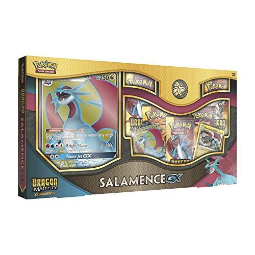 Pokemon TCG: Dragon Majesty Special Collection Salamence Gx Box - A Foil Promo Card Featuring Salamence-Gx