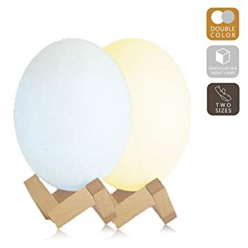 Led Lamps 3d Printing Dinosaur Egg Light Night Lamp Remote Control For Bedroom Modern Techniques Led Night Lights