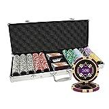 500 Ct Ace Casino 14 gram Poker Chip Set Aluminum Case Custom Build