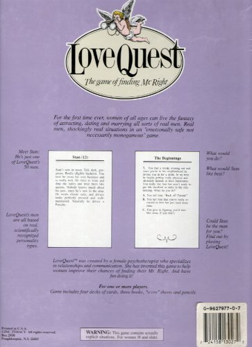 LoveQuest The Game Of Finding Mr. Right