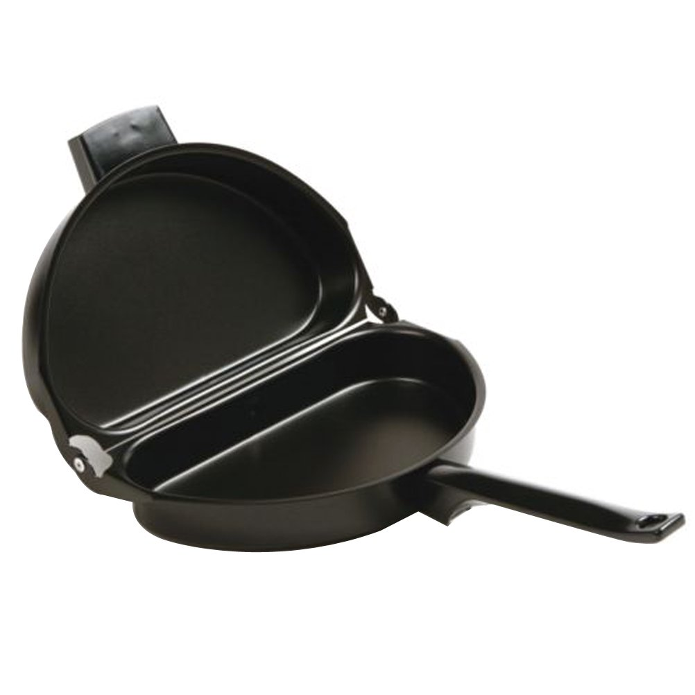 OUNONA Nonstick Folding Omelet Pan Pot Cooking Tool Camping Hiking Picnic Outdoor