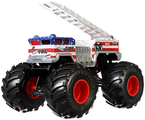 Hot Wheels 5 Alarm Monster Truck, 1:24 Scale (Best 1 5 Scale Rc 2019)