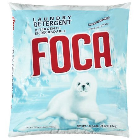 Pack of 5 - Foca Powder Laundry Detergent, 11 lbs