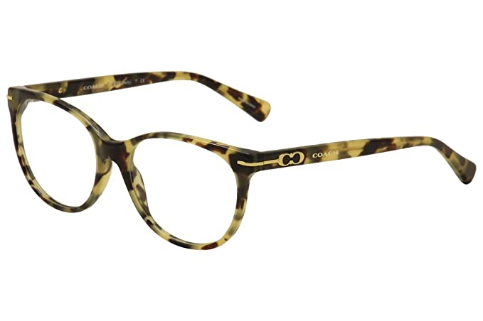 aa41869e4d Image Unavailable. Image not available for. Colour  Coach Betty Eyeglasses  HC6056 5093 Dark Vintage Tortoise 51 17 135