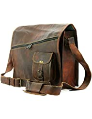 Handmadecraft Mens satchel vintage leather messenger bag brown handmade shoulder best laptop cross body best sling...