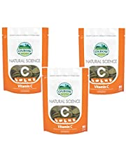 Oxbow Natural Science 60ct Vit C Supplement Little Animal Gerbil Hamster 3 PACK