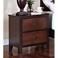 New Classic 00-145-040 Bishop Nightstand, Two Tone