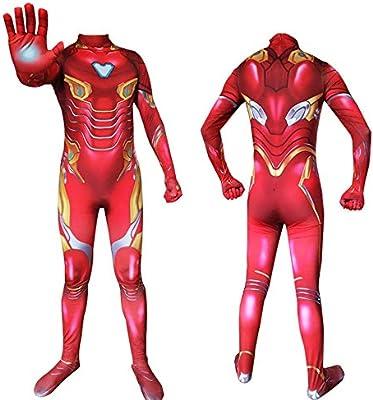 werty Cosplay Ropa Traje De Cosplay De Iron Man Medias ...