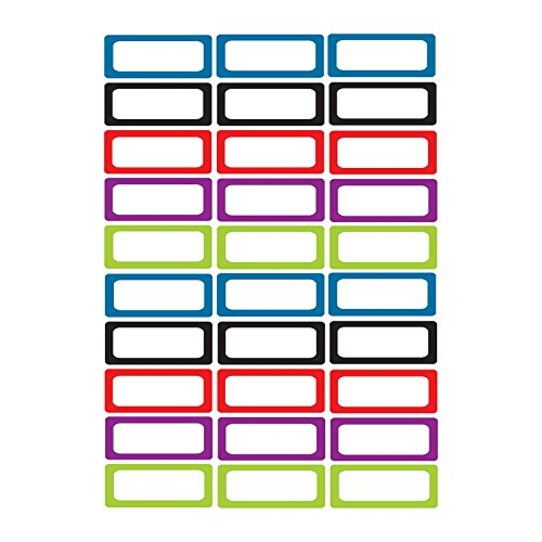 Ashley Productions Solid Magnetic Small Nameplates (Whiteboard Name Tags)
