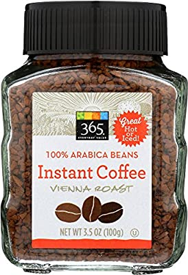 365 Everyday Value, Instant Coffee Vienna Roast, 3.5 oz from 365