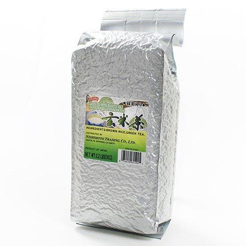 brown rice tea with matcha - 7