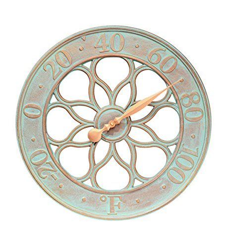 Whitehall Products Medallion Thermometer, French Bronze by Whitehall