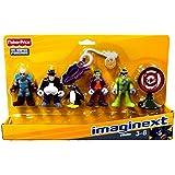 Fisher Price Toy - Imaginext - DC Super Friends Figure Set - Batman Villains - Joker - Riddler