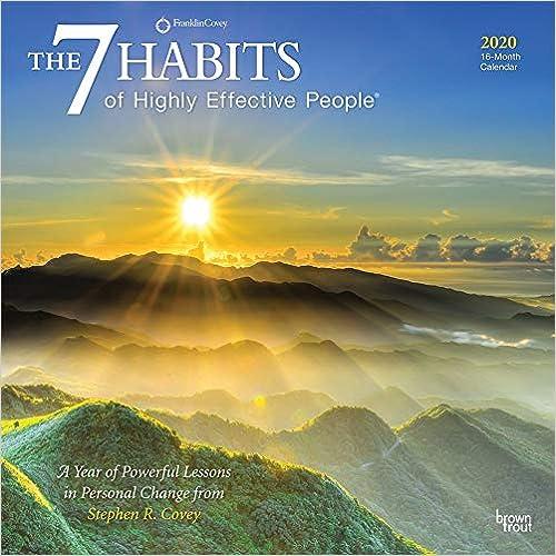 Livre electronique gratuit The 7 Habits of Highly Effective People 2020 Calendar