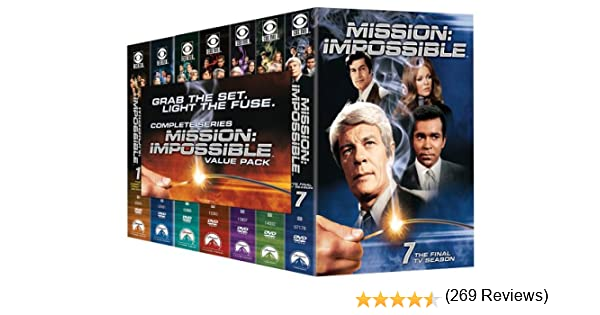 Mission Impossible: Complete TV Series Pack Reino Unido DVD ...