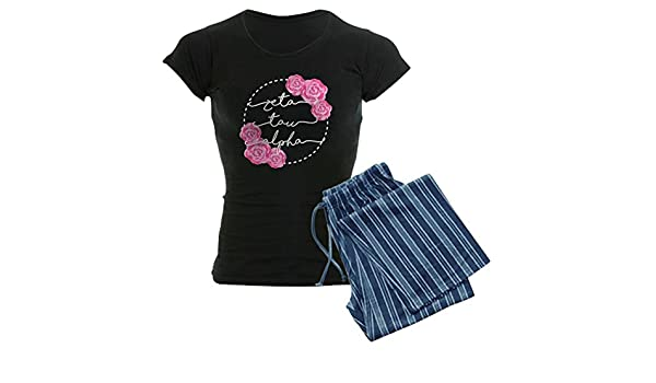 63d11abfff21 Amazon.com  CafePress - Zeta Tau Alpha ZTA Sorority Pajamas - Womens ...