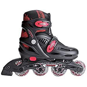 Avigo In-Line Skates - Boys - Medium Size 1-4 - boxes may be tattered due to made of cheap cardboard