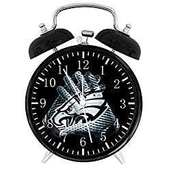 Eagles Twin Bells Alarm Desk Clock 4 Home Office Decor F125 Nice for Gifts