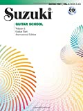 Suzuki Guitar School, Vol 1: Guitar Part (Book & CD)