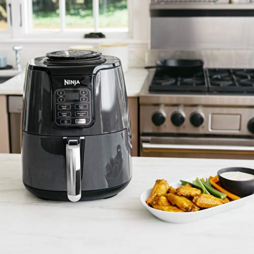 Ninja Air Fryer with chicken wings