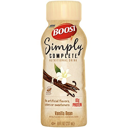 Boost Simply Complete Nutritional Drink, Vanilla Bean, 8 ...