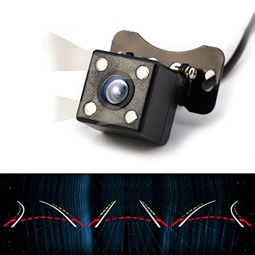 GERI-New-intelligent-reversing-track-4-LED-170-Wide-Angle-camera-HD-night-vision-car-camera-comes-with-dynamic-trajectory