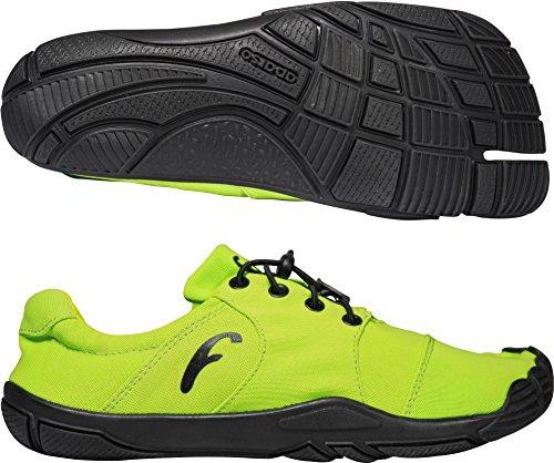 Freet Leap Zapatillas de running Verde - amarillo