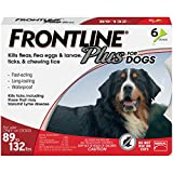 Frontline Plus for Extra Large Dogs (89 to 132 pounds) Flea and Tick Treatment, 6 Doses Larger Image