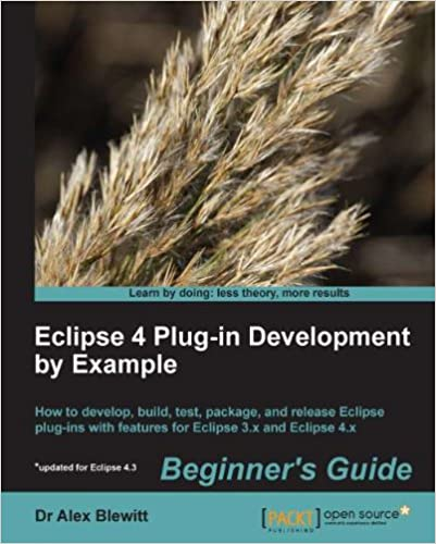 Blewitt A. Dr. - Eclipse 4 Plug-in Development by Example Beginners Guide [2013, PDF, ENG]