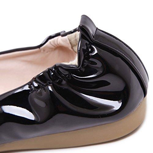 SmilunWbfj001 - Zapatillas de casa Mujer negro