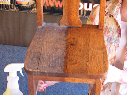 Touch Beeswax Wood Furniture Polish - before and after 2