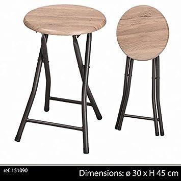 Pliant Pliable Tabouret De Bar Design Industriel Chaise Decoration