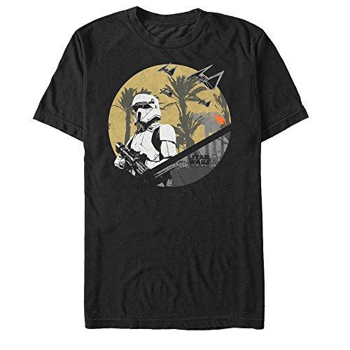 Star Wars Rogue One Shoretrooper Scarif Battle Mens Graphic T Shirt