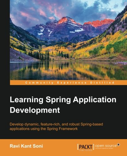 Learning Spring Application Development ebook