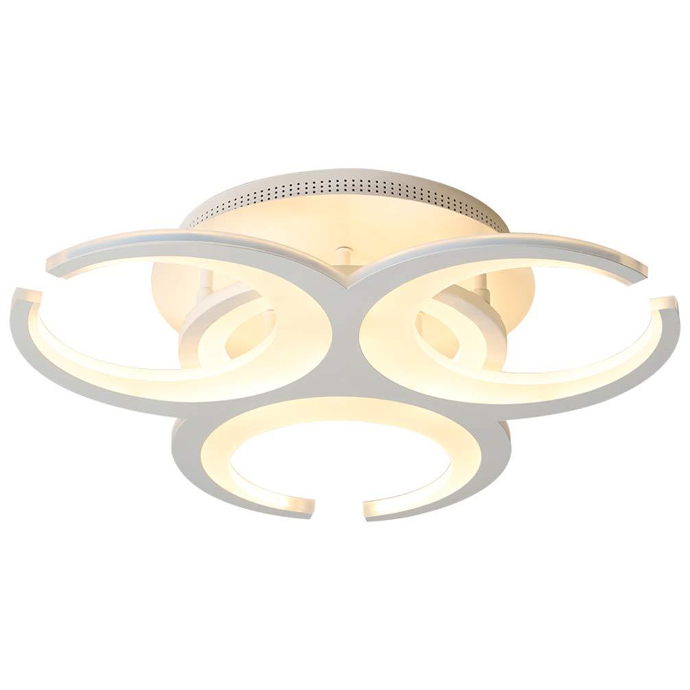 Moderne LED 230v Brot Lampe Wand- Deckenleuchte 6500k Energiespar Deckenlampe Badlampe Flur Balkon Lampe Deckenleuchte Rundes Licht Ø27H9 cm