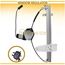 WIN-2X New 1pc Front Driver (Left) Side Power Window Regulator & Motor Assembly Fit 99-00.3 Jeep Grand Cherokee
