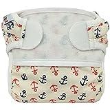cloth diaper poop liners - Bummis Swimmi Swim Cloth Diaper - Anchors Away - Medium 15 - 22 lbs